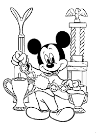 kidscolouringpages orgprint u0026 download mickey mouse vacation