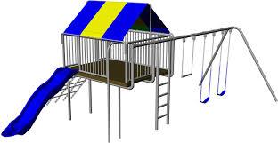 backyard clubhouse swing set
