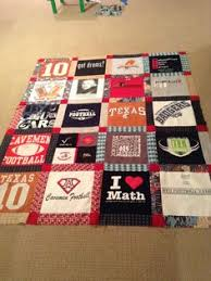 high school graduation present ideas made this t shirt memory quilt for my as a gift during