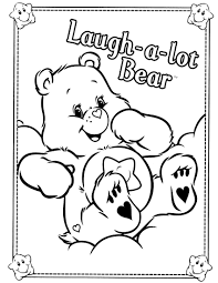 care bears coloring pages getcoloringpages com