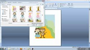 E Card Invites Creating Invitation Using Clipart In Microsoft Word Youtube