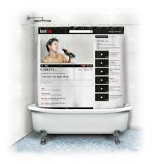 online get cheap youtube shower curtain aliexpress com alibaba creative youtube shower curtain webpage bath curtains waterproof mildew resistant polyester shower curtain 12 hooks 180