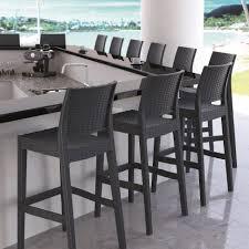 out door bar stools super stylish rattan bar stools thedigitalhandshake furniture
