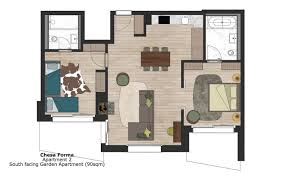 Garden Apartment Floor Plans Chesa Forma Arosa Luxury Powder Byrne Properties In Switzerland