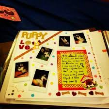 dog scrapbook album 14 best dog scrapbook album images on pets dog