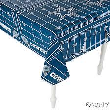 Dallas Cowboys Pool Table Felt by Nfl Dallas Cowboys Tablecloth Oriental Trading Discontinued