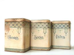 Blue Kitchen Canister Sets Awesome French Country Canister Set On Furniture With French