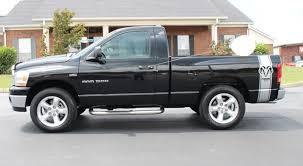 dodge ram hemi 2006 black dodge ram 1500 slt 5 7l hemi trust auto used cars