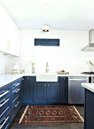 blue and white kitchen ideas white and blue kitchen cabinets kgmcharters com