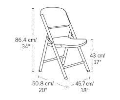Flex One Folding Chair Lifetime Folding Chair 22802 Single Pack White Granite Chair