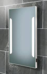 illuminated bathroom mirror cabinet with shaver socket best