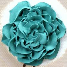 turquoise roses canvas wall textured painting teal and khaki small
