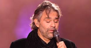 Opera Singer Blind Bocelli Andrea Bocelli Moves The Crowd With