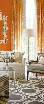 orange wall what color of curtains will go with orange walls quora