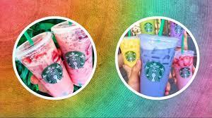 Most Ridiculous Starbucks Order The Proper Way To Order Your Starbucks Secret Menu Rainbow Drinks