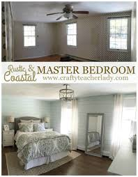 crafty teacher lady rustic u0026 coastal master bedroom makeover