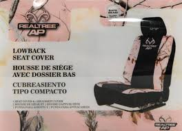 Realtree Bench Seat Covers Realtree Pink Camouflage Low Back Bucket Seat Cover 2 Pack