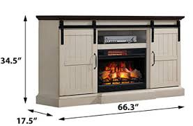 White Electric Fireplace Tv Stand Hogan Electric Fireplace Tv Stand In Weathered White