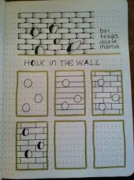 hole in the wall tangle zentangle zentangle patterns and walls
