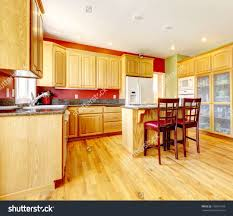 red green and yellow kitchen living room ideas