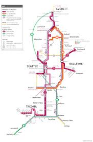 Seattle Monorail Map by Looking Back At Seattle Transit U0027s U0027forward Thrust U0027 Kcts 9