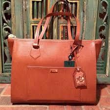 nwt ralph lauren tan lowell satchel boutique ralph lauren bags