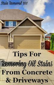 removing oil stains from concrete tips u0026 instructions
