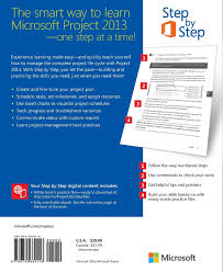 microsoft project 2013 step by step amazon co uk carl chatfield