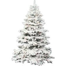 vickerman pre lit 3 flocked alaskan artificial tree
