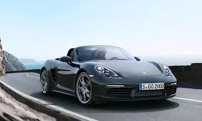 porsche boxster s horsepower powerful purity the porsche 718 boxster and 718 boxster s