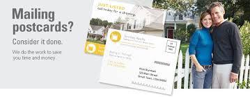 postcard mailing mailing services vistaprint