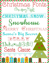 day 6 free christmas font downloads for day 6 of our 12 days of