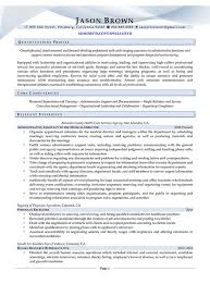 recruitment specialist resume administrative resume examples resume professional writers