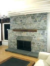 stone for fireplace cover brick fireplace with faux stone trendesire me