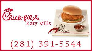 fil a katy tx 281 391 5544 spicy chicken sandwich