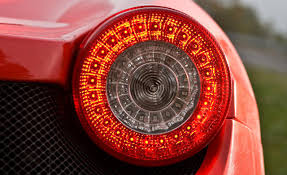 ferrari tail lights ferrari tail light pictures to pin on pinterest pinsdaddy
