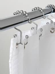 Roller Curtain Hooks Premium Double Glide Shower Rings Roller Curtain Hooks With