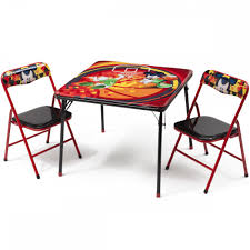 kids folding table and chairs with mickey mouse u2014 interior home