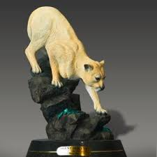 mountain lion statue handmade mountain lion by from the forest inc custommade