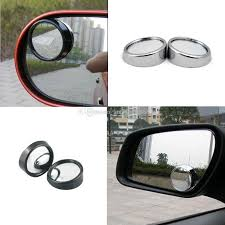 Blind Spot Mirrors For Motorcycles Car Side Mirrors 360 Wide Angle Round Blind Spot Convex Mirror