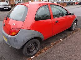ford ka 1 3 petrol red 2005 54 reg long mot drives good needs tlc