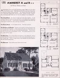 cape cod home floor plans 1935 gordon tine homes the amherst cape cod small houses