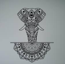 Wall Decals Vinyl Sticker Mandala by Online Get Cheap Elephant India Wall Aliexpress Com Alibaba Group