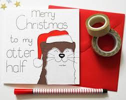 christmas love card etsy