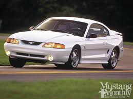 1995 ford mustang svt cobra photos specs news radka car s blog