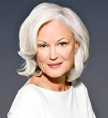 hairstyles for women over 60 with glasses hair is our crown