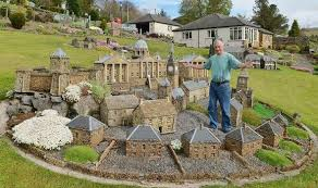 a retired builder had time on his so he built big ben in his