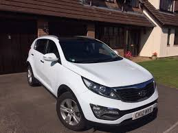 2012 white kia sportage 1 6 gdi 2wd manual 54 000 miles in