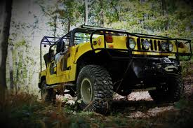 old yellow jeep thrillsville aerial adventure park off road adventure the gorge