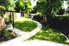 small grass garden at house front ideas terraced post bgardenb